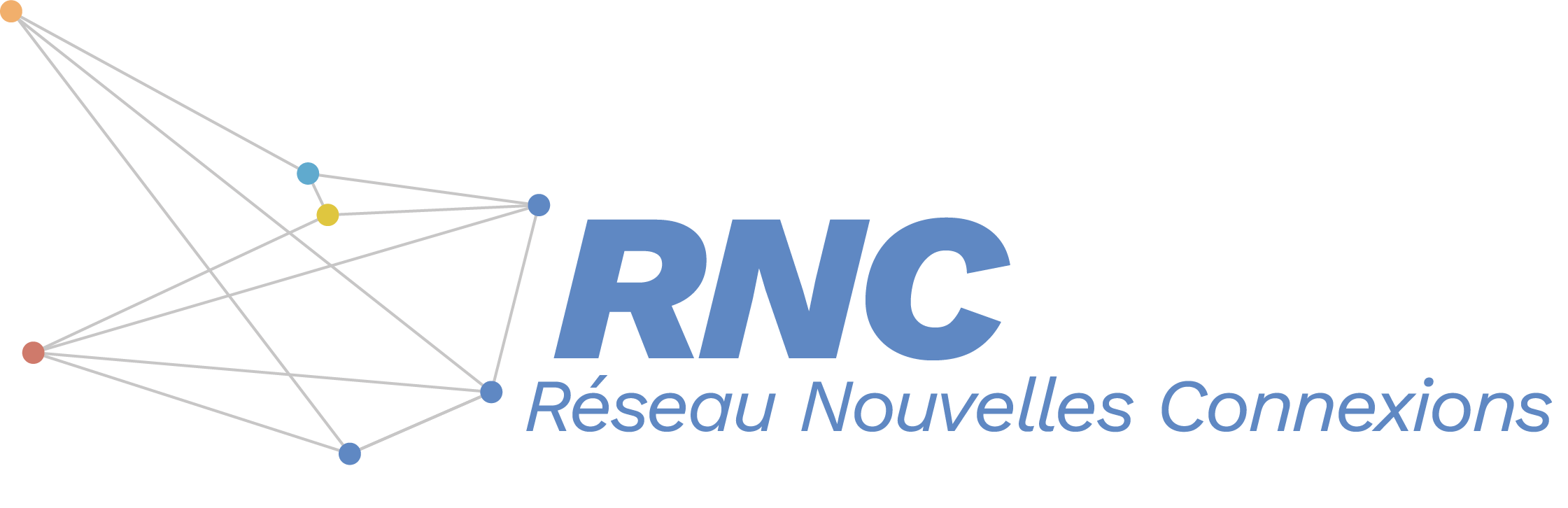 Logo de RNC un réseau d'église francophone